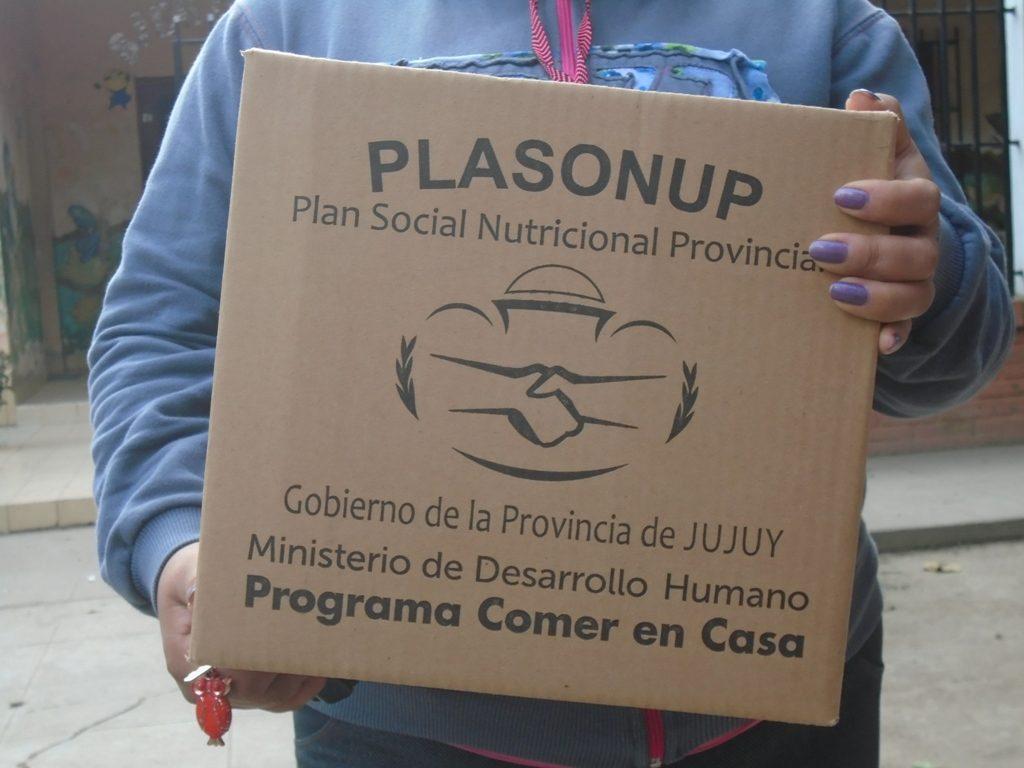 Lunes 26, martes 27 y miércoles 28 entrega de Unidades Alimentarias en Humahuaca, Uquía, Hipólito Yrigoyen y últimos días en Capital