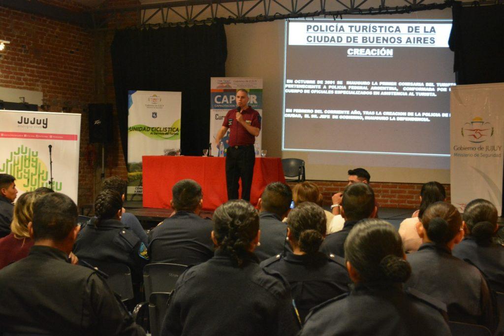 Inició la formación de la Policía Turística de Jujuy