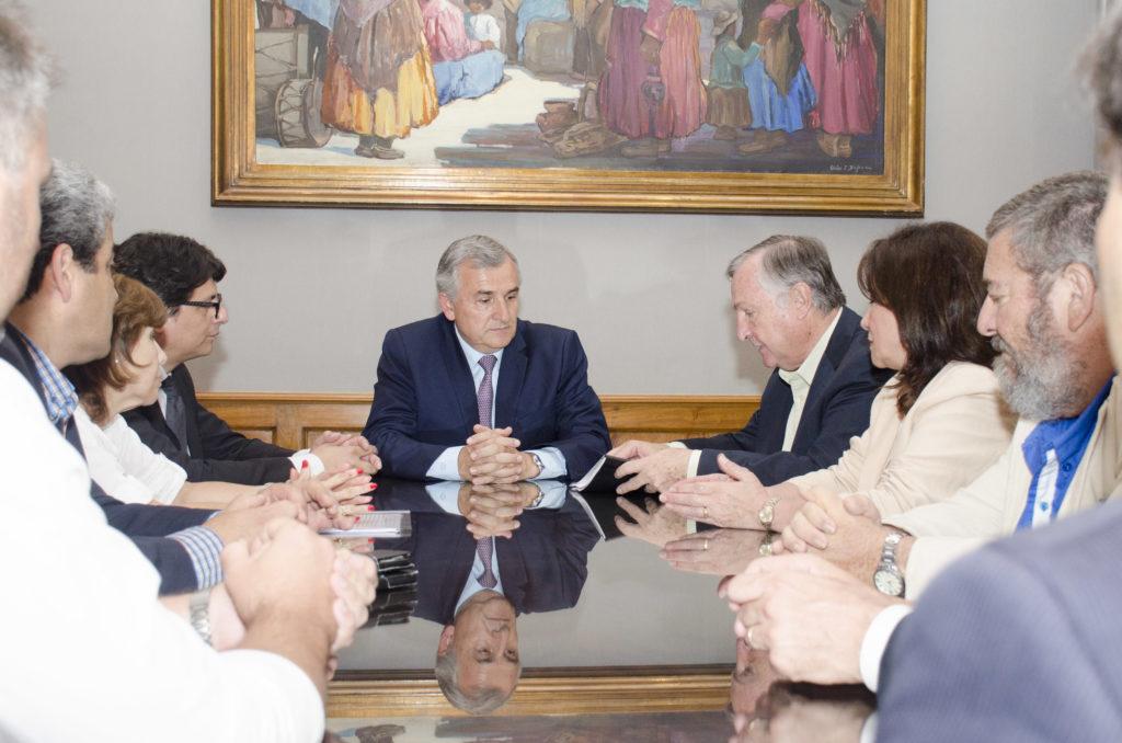 Presentaron al gobernador proyecto de modificación de Código Procesal Penal.